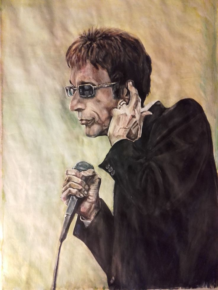 "Robin Gibb ""Between the lines"" Acrylics on paper 2016"