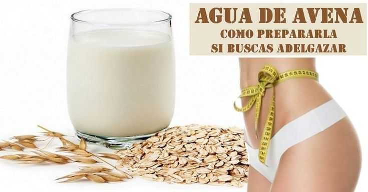Propiedades del agua de avena | Salud