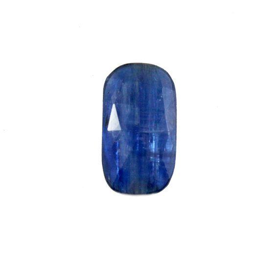 Blue Kyanite fancy rose cut 7.83 carat by SARAHHUGHESfinegems