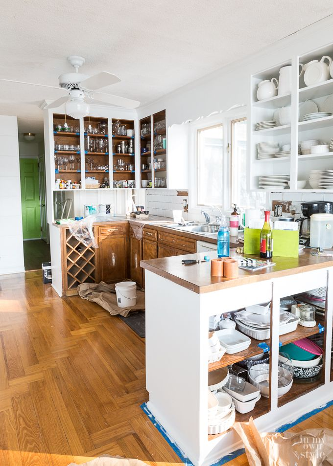 Kitchen Makeover Update: Cabinet Hardware - In My Own Style