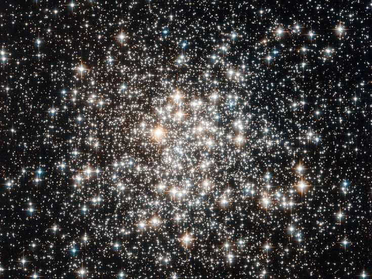 M107: Star Cluster, Stars Cluster, Messier 107, Hubble Spaces Telescope, Telescope Capture, Jewels Boxes, Ancient Stars, Hubble Space Telescope, Fields