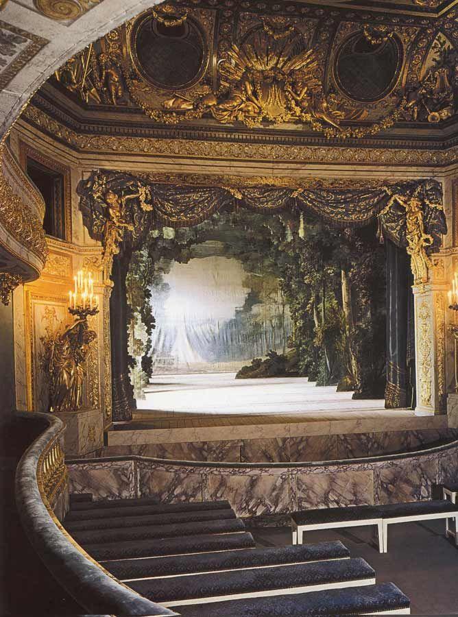 Théâtre de la reine Marie-Antoinette au Petit Trianon Giclee ( Theatre of Queen Marie Antoinette )
