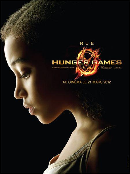 Hunger Games : Affiche Amandla Stenberg, Gary Ross