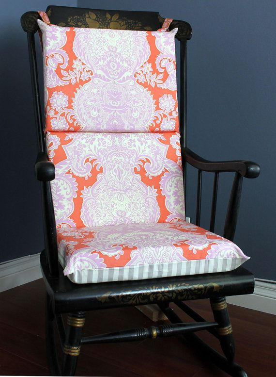 Gorgeous Rocking Chair Cushion, Amy Butler Fabric
