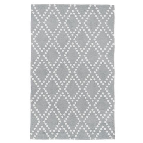 PBteen has cheaper versions of rugs etc. And furniture that looks like lockers. If you are into that.    Trellis Rug Gray | PBteen