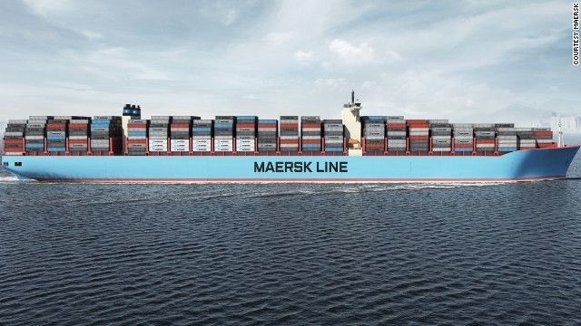 Maersk Triple E Introducing The World S Biggest Ship Maersk Line Ship Cargo Shipping