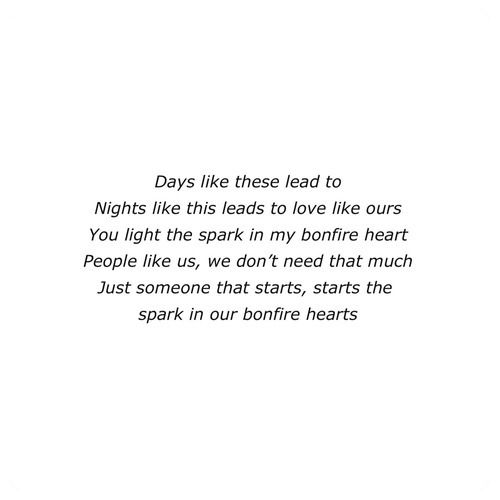 bonfire heart-james blunt... kind of obsessed with this song right now