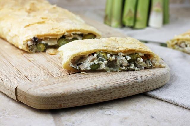Warm Mushroom, Roasted Asparagus And Wild Rice Salad With Feta Recipe ...