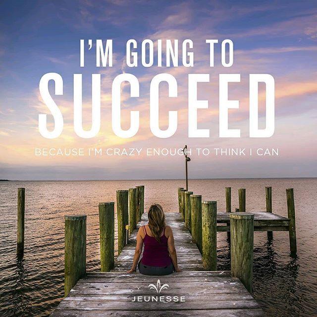 Saya pasti sukses