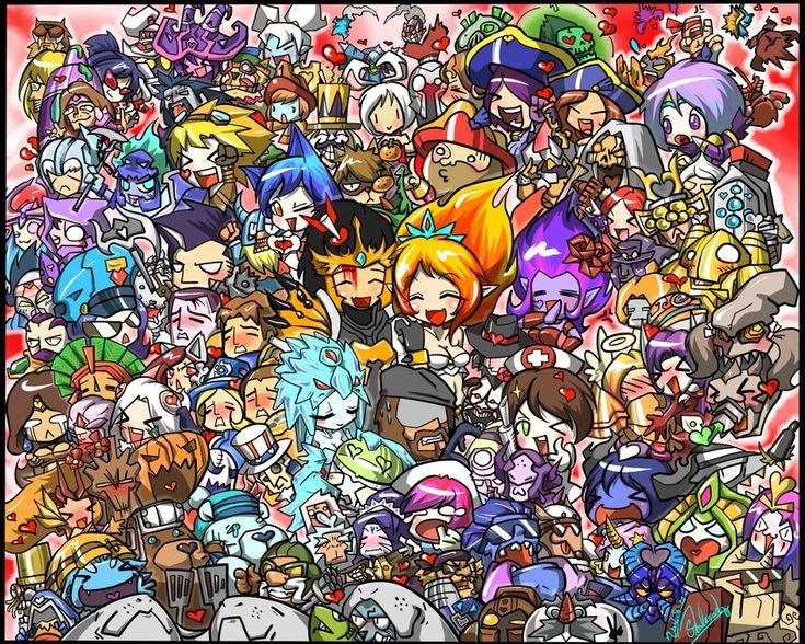 League Of Legends Cuteness Overload