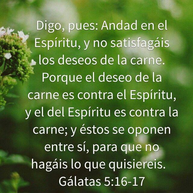 Galatas 5:16-17