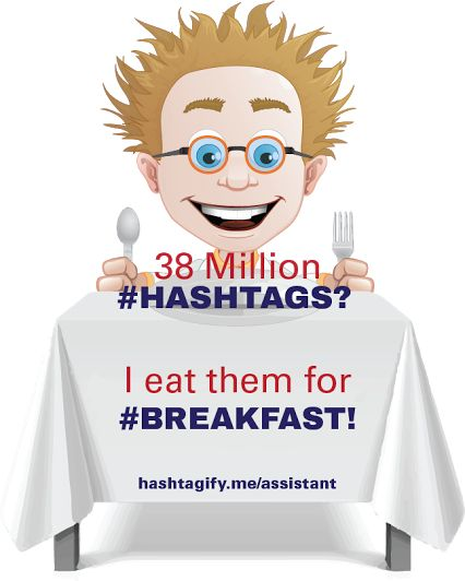 The Man Who Isn't Intimidated By 38 Million Hashtags #Hashtags #Twitter #socialmedia