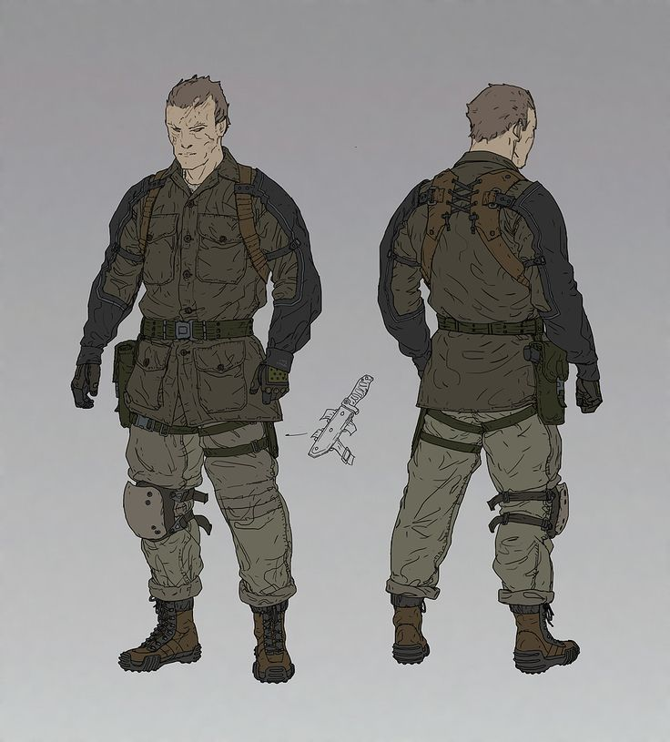 ///AjTron, 'Recon' Concept art for Metal Gear Online