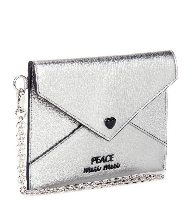 Miu Miu Card Holder Silver
