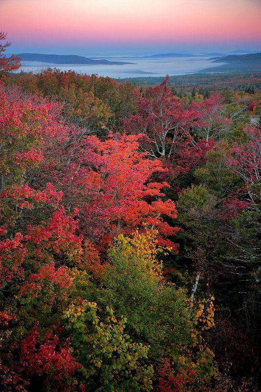 autumn, Franconia Notch State Park, New Hampshire