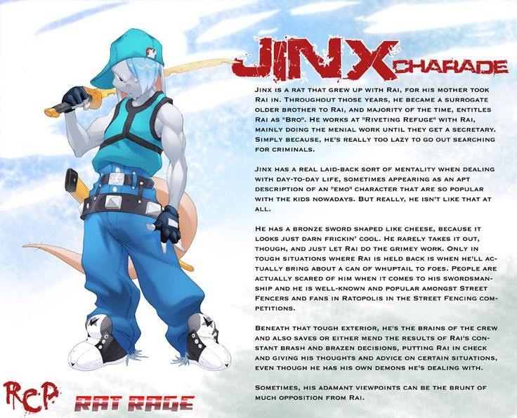 Jinx Charade by Robaato