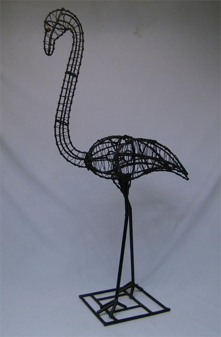 106 best 3D - wire scultpures images on Pinterest | Iron, Wire ...