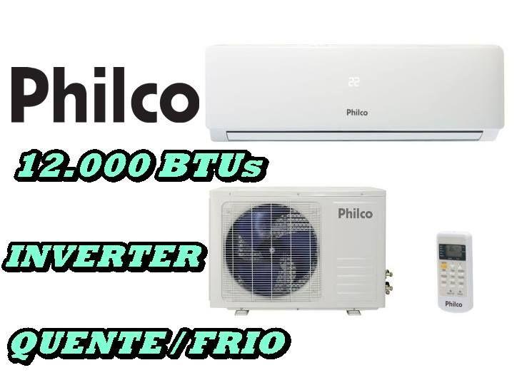Ar Condicionado Split Inverter 12000 Btus Philco Quente Frio 220v