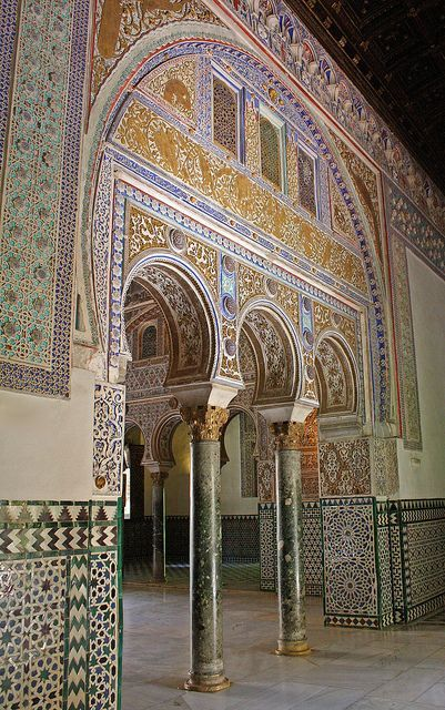 Real Alcazar, Sevill lovely art