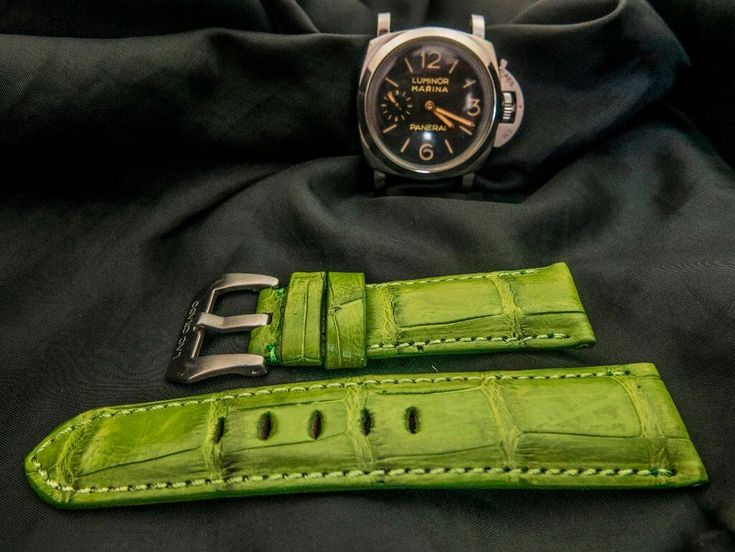 PANERAI Watch band / straps Visit our website : Laccrado.com for more Like our page for more EVENT and PROMOTION https://www.facebook.com/laccrado/?fref=ts . BEGIN YOUR OWN STYLE WITH US NOW #hublot #patekphilippe #rolex #leatherstrap #watchlover #audemarspiguet #wristwatch #watches #omega #sevenfriday #rolex #sevenfridayindonesia #paneristi #panerai #paneraistrap #paneraicentral #luxury #luxurystyle #handmadestrap #beststrap #watchstrap #singaporewatch #crocodilewatchband…