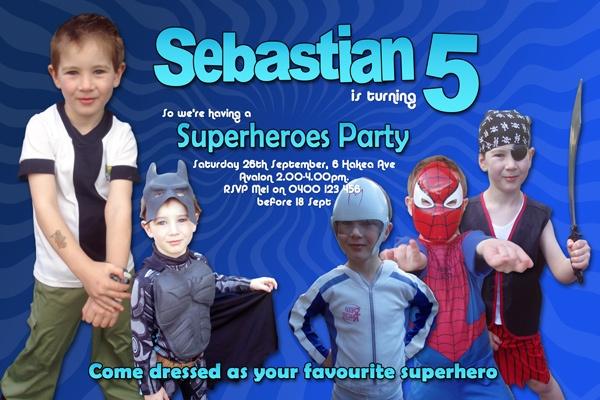 ????Superhero Party