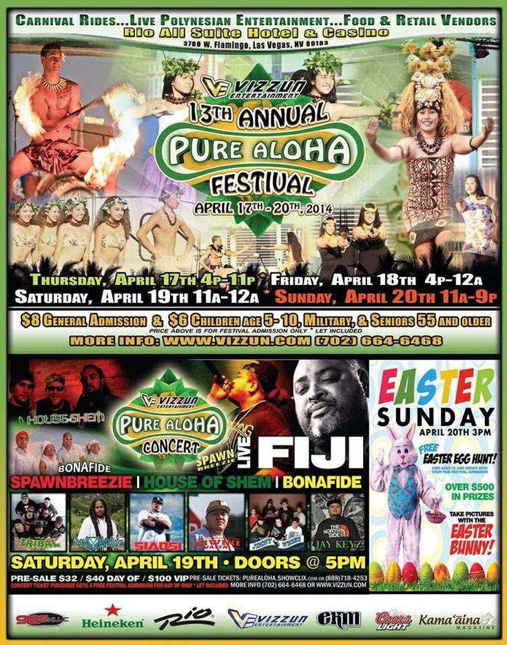 Aroha Festival, Las Vegas 2014