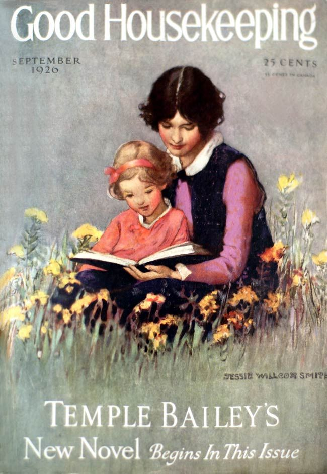 Good Housekeeping (September 1926). Jessie Willcox Smith (1863-1935). Source: Library of Congress.