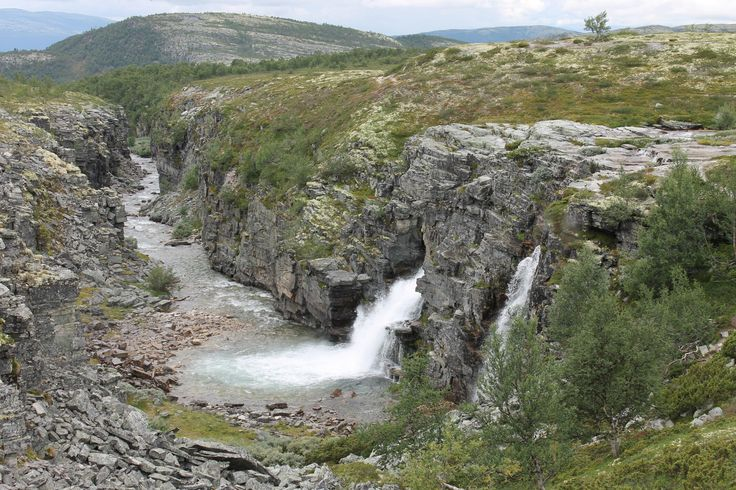 Falls in Rondane National Park.