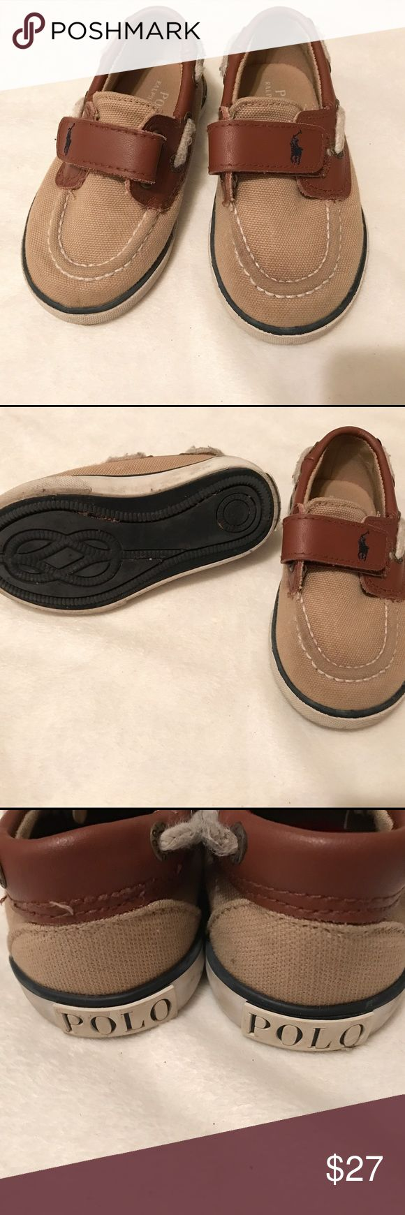 Children's Polo by Ralph Lauren boat shoes Excellent condition, were only worn a handful of times. Polo by Ralph Lauren Shoes Dress Shoes