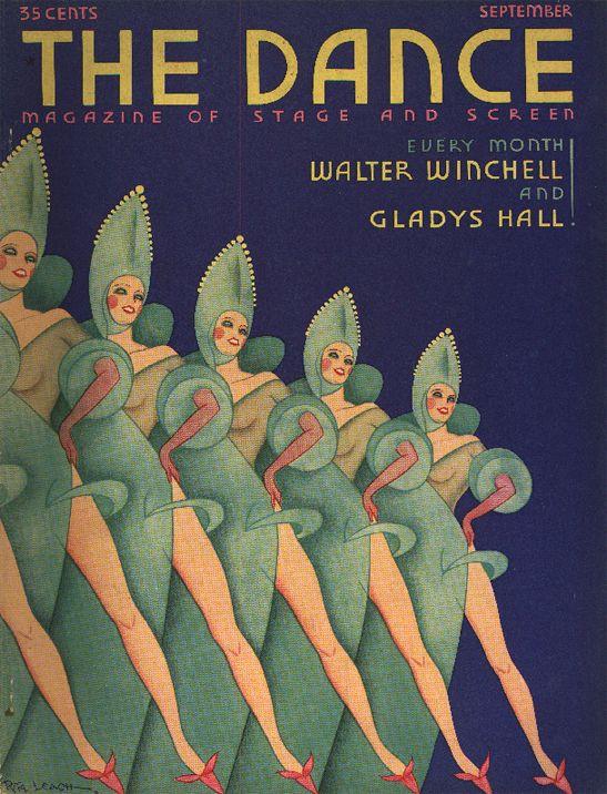 The Dance magazine - illustrated by John Vassos, 1930