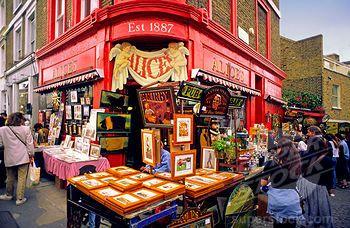 superstock london notting hill flea market junk states people folks people antiques. Black Bedroom Furniture Sets. Home Design Ideas