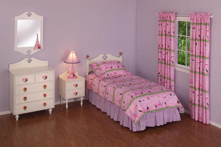 Poodles In Paris Bedroom Set  Cool ideas for Kids rooms