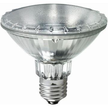 Bec halogen reflector Philips HalogenA PAR30S, 75W, E27, 30D, 2000 ore, lumina calda http://www.etbm.ro/becuri-halogen