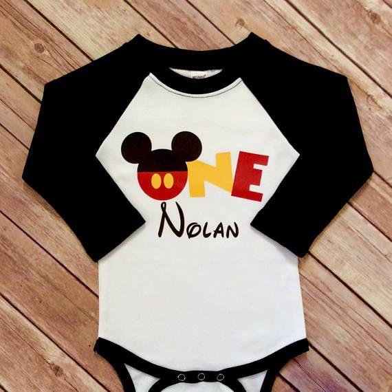 One Mickey head onesie