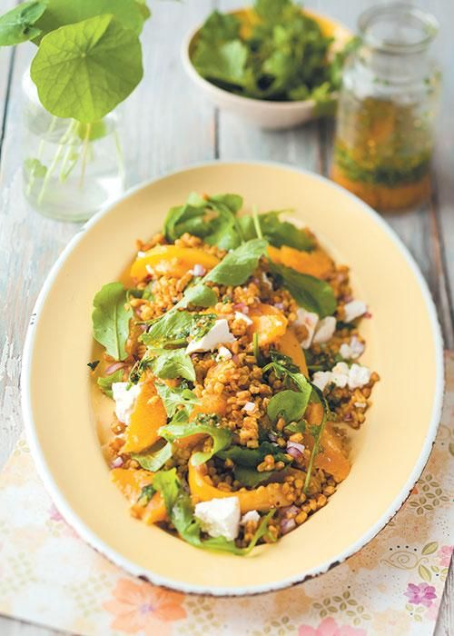 Mango and orange corn salad / Koringslaai met mango en lemoen