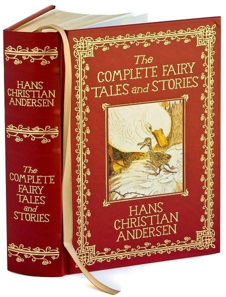 Hans Christian Andersen, cuentos infantiles.