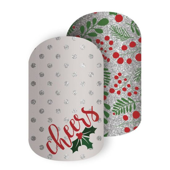 Holiday Cheer | Jamberry See more Holiday wraps and order at: https://jackieshaw.jamberry.com/us/en/