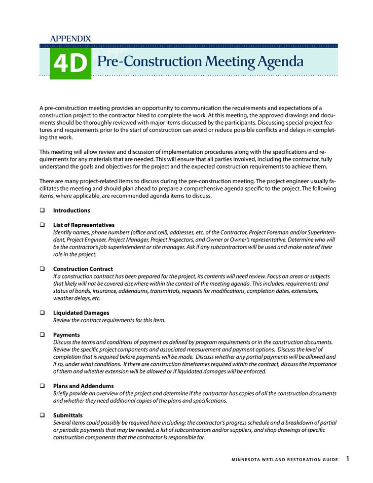 Pre Construction Meeting Agenda How To Create A Pre Construction Meeting Agenda Download This Pre Con Meeting Agenda Agenda Template Meeting Agenda Template
