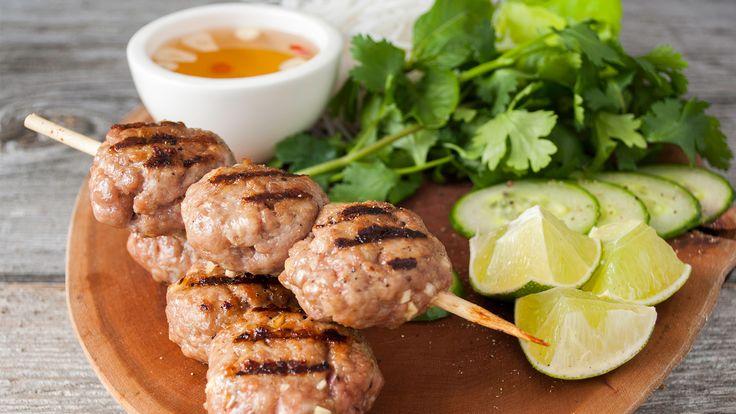 Grilled Pork Patties