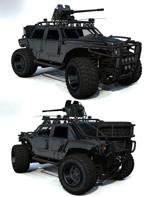 ESCoRT Caiman GMV| 3D Models and 3D Software by Daz 3D