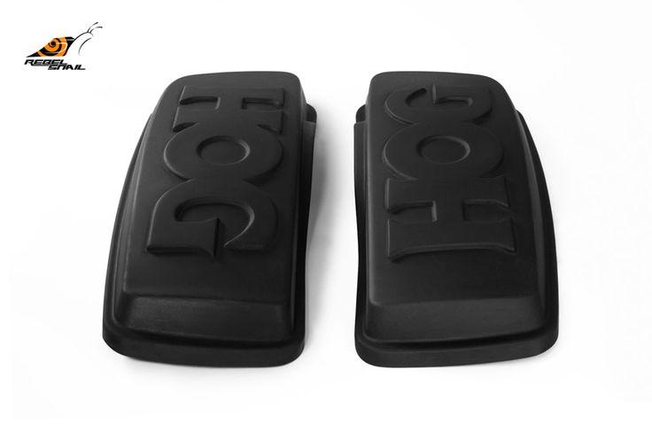 RS hard saddlebag lids hog design for touring 2014 Image