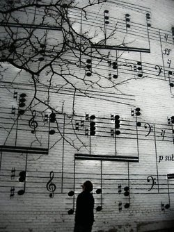 Awesome music mural