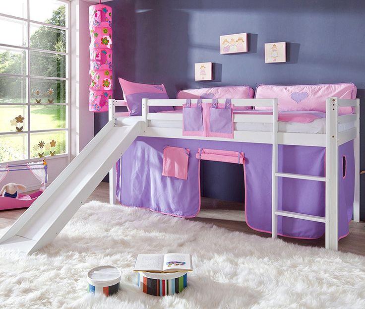 Die besten 25+ Kinderbett mädchen Ideen auf Pinterest Bett für - schlafzimmer kiefer wei amp szlig