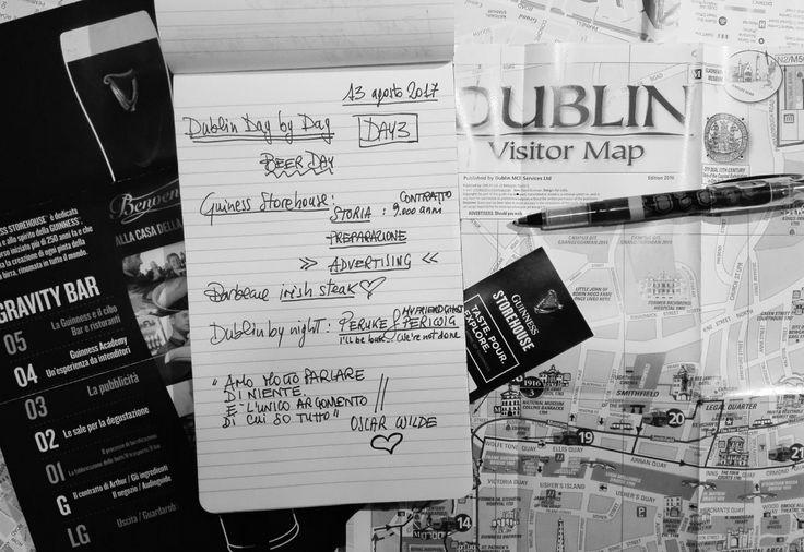 Dublin day-by-day - Guiness Storehouse (Day 3)  Cosa troverete: un tizio che ha affittato per 9.000 anni (a 45 sterline l'anno) un luogo abbandonato per trasformarlo in una miniera d'oro; uno specialista di marketing e una blogger che fanno gli scemi in cima allo stabile dell'ex luogo abbandonato; un pesce in bicicletta che pubblicizza birra per la gioia della blogger incriminata; locali in penombra infestati da fantasmi che fan tremar lampadari; tizi che fabbricano artigianalmente botti di…