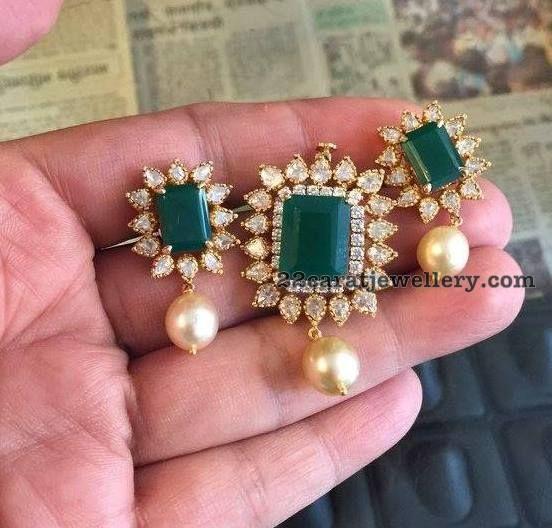 Light Weight Classy Pendant Sets - Jewellery Designs
