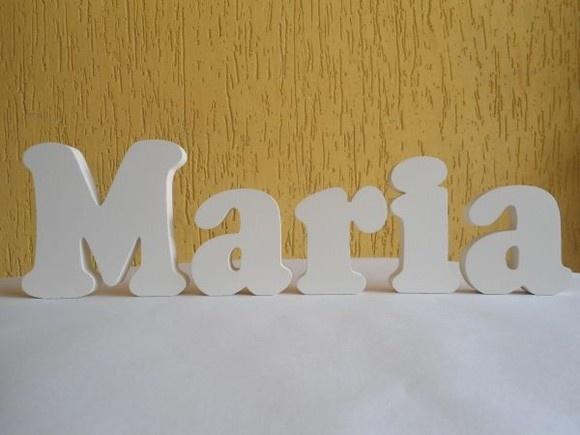 letras decorativas e para qualquer ambiente em mdf de mm de espessura e