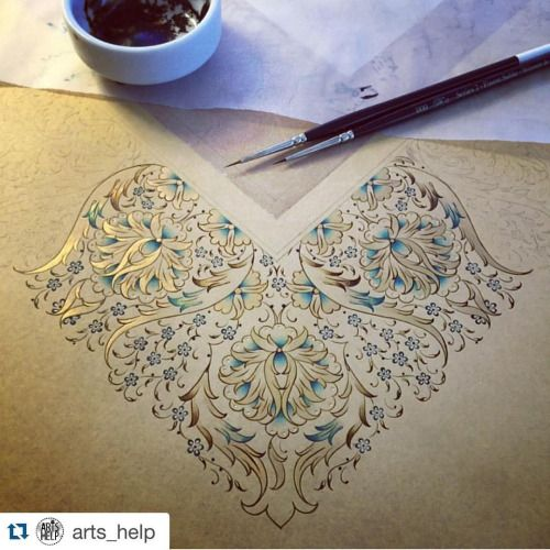 #Repost @arts_help with @repostapp. ・・・ Beautiful By @dilarayrc _