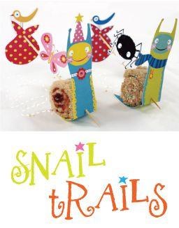 snail treat uitdelen