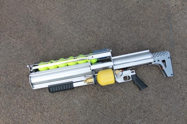 Tennis Ball Gun Made From 80 20 Stuff 80 20 Just Wants To Have