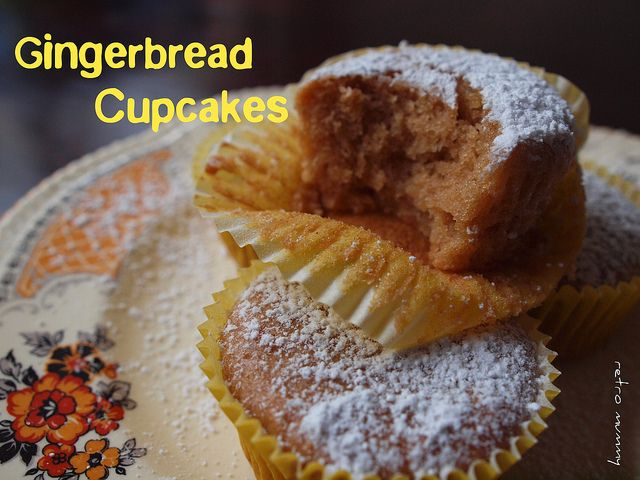 #Gingerbread cupcakes - a #Christmas treat #recipe for Thermomix